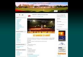 Site web du club d'athlétisme de Saint-Ghislai